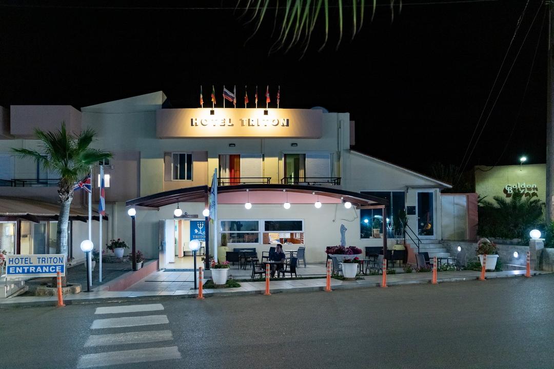 podvečerní hotel Triton